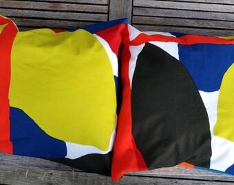 Two Cushion covers in Marimekko fabric