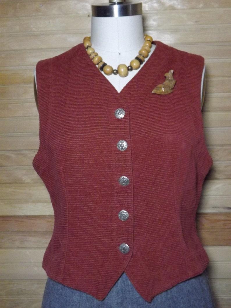 1970/'s Corduroy Vest