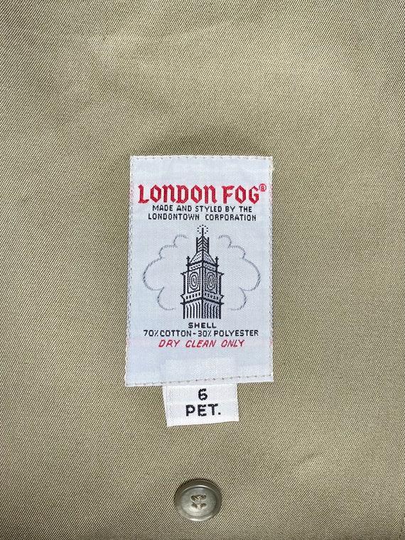 London Fog Trench Coat - image 9
