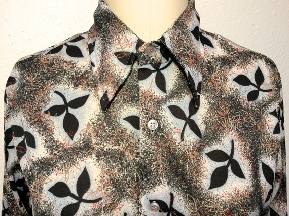 1970's Blouse with Butterfly Collar, 1970's Kmart