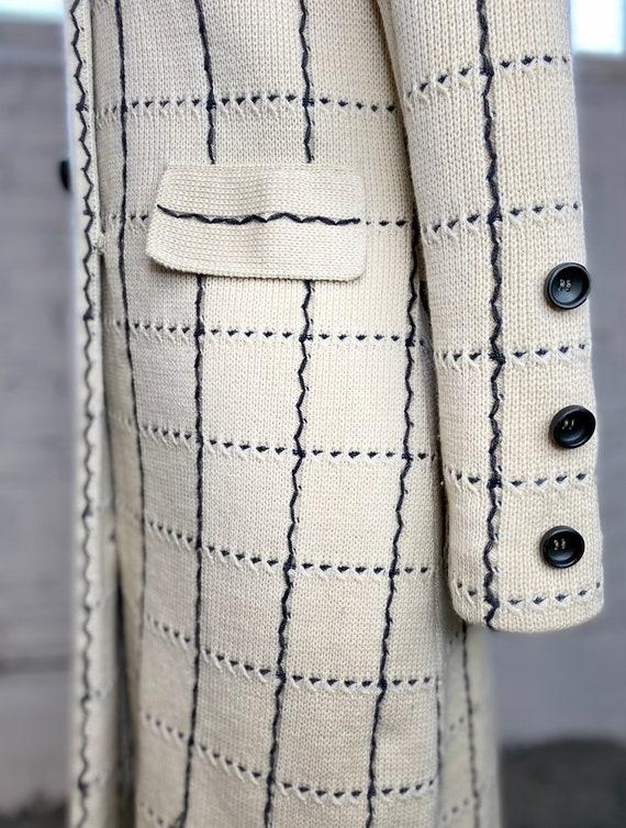 Italian Wool Coat - image 7