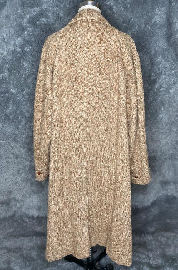 Burberry Tweed Coat, Burberry Irish Hand Woven Tw… - image 8