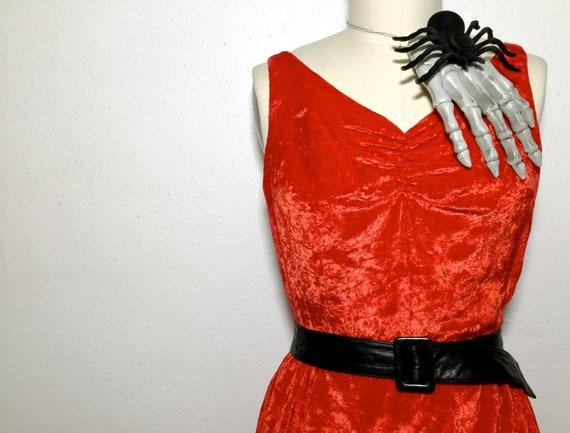 Velvet Dress, Velvet Valentine Dress, Velvet Chris