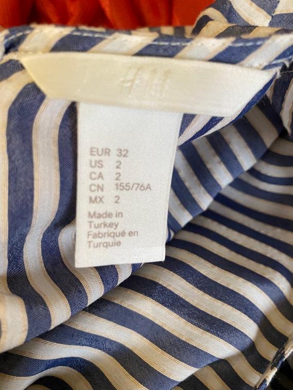 Striped Lace Blouse - image 9