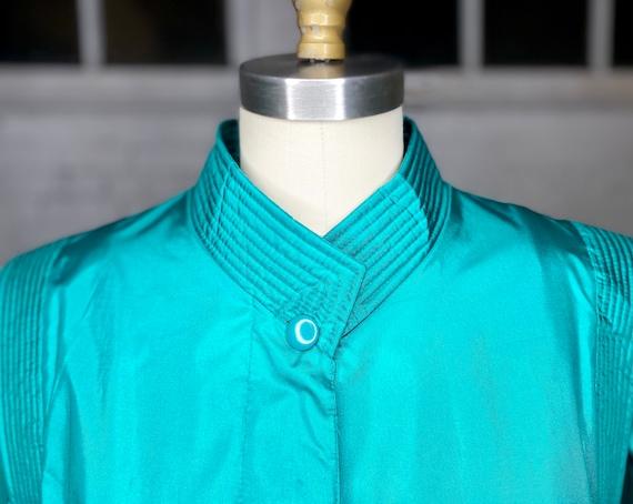 Vintage Futuristic Raincoat