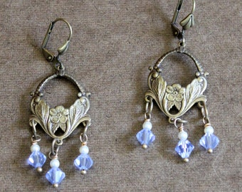 Swarovski Crystals drop Earrings