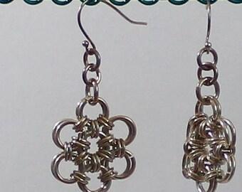Sterling Snowflake Earrings
