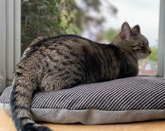 Sustainable Wool Pet Bed, Cat Mat, Small Dog Bed, Modern Pet, Machine Washable, Eco Friendly, Travel Cat Bed, Pet Gear, Cat Gift, MN made