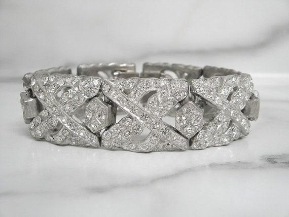 Fine Vintage Art Deco Bracelet, Antique Art Deco W