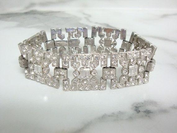 Antique Art Deco Bracelet, 1920s Original Vintage