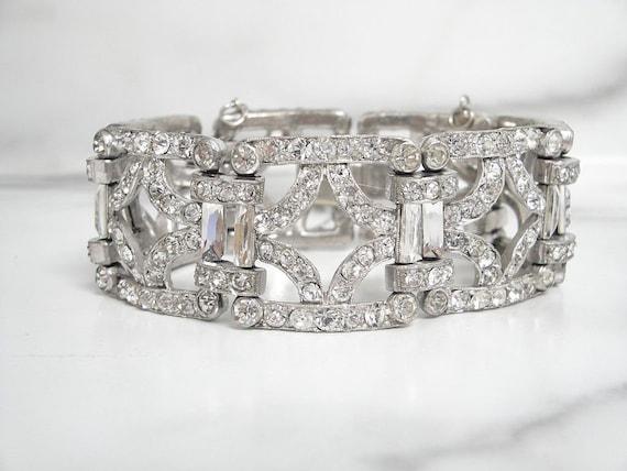 Antique Art Deco Bracelet, Fine Vintage Art Deco B