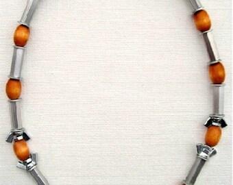 Unique Hardware Necklace