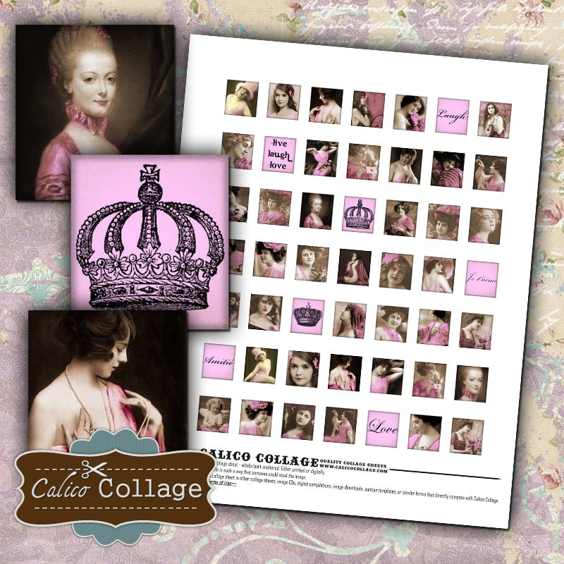 I Like The New Touch Of Pink In: Printable Touch Of Pink Printable Scrabbles Collage Sheet