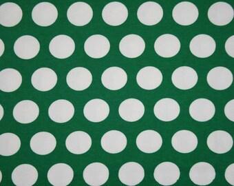 Green St Patrick 1 yard KNIT cotton lycra spandex