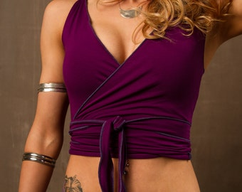 Wrap Around Vest  Without Hood - SALE