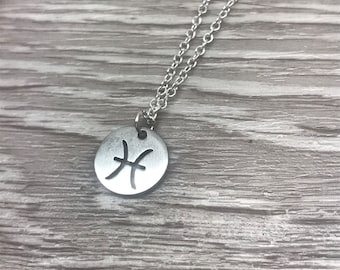 may june birthday sterling silver zodiac sign jewelry planet mercury sign of twins astrology astrological symbol gift Gemini necklace