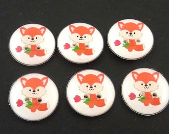 Animal & Nature Buttons