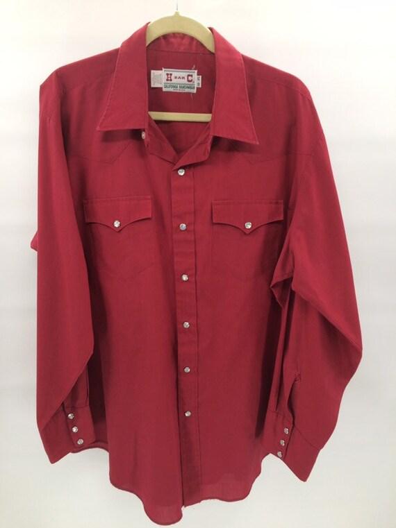 Vintage H Bar C Ranchwear Western Shirt - image 1