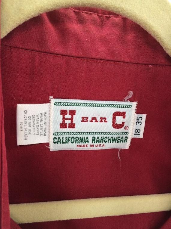 Vintage H Bar C Ranchwear Western Shirt - image 2