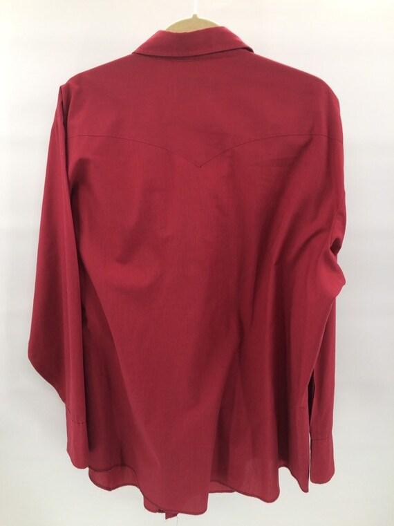 Vintage H Bar C Ranchwear Western Shirt - image 5