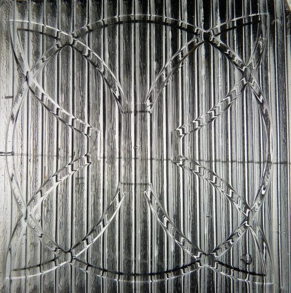 FRANK LLOYD WRIGHT  glass Prism FLOWER tile LUXFER