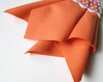 Wool Felt, Coral, Pure Merino Wool, Large Felt Sheet, Felt Square, Non Woven Fabric, Certified Safe