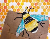 Embroidered Patch - Bee