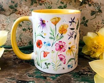 Wildflower Garden Mug