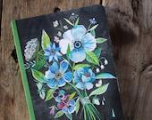 Flowers Always Journal | Katie Daisy Notebook