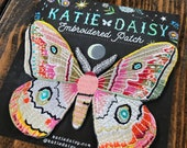 Embroidered Patch - Moth