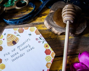 Honey Die-Cut Notepad