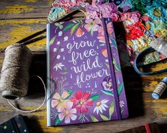 Grow Free Notepad Folio | Notebook | Journal | Katie Daisy