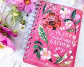 2019-2020 Planner | Plant Kindness Gather Joy | Katie Daisy Datebook