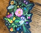 Bouquet  - Matte Laminate Sticker