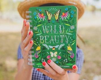 2021-2022 Planner   Wild Beauty   Katie Daisy Datebook