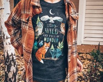 Wild Wonder Kids Tee