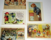 5 (1989) Postcards - Reproductions of Early 1900 Trade Cards