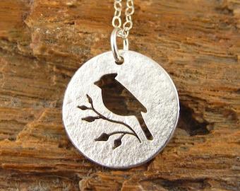 2d86f393 Cardinal necklace | Etsy