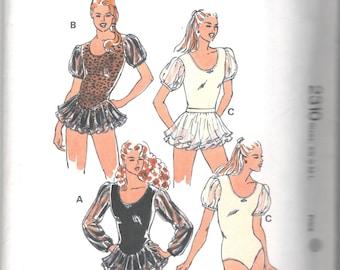 BALLET DANCE TAP COSTUME XLChild Pageant 14//16 Black Velvet Bodice