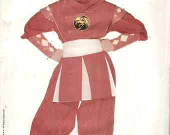 Butterick 4178 Childs Pink Ninja Ranger POWER RANGER Costume Pattern Girls Teen Super Hero Sewing Pattern xs s m l Breast 23 - 32 UNCUT & Kimberly pink ranger | Etsy