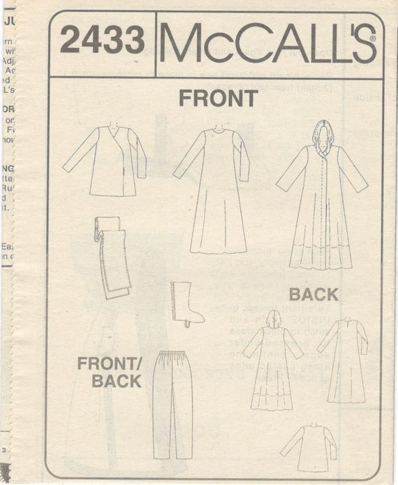 McCalls 2433 Cosplay Costume Pattern Star Wars Space Nomads | Etsy