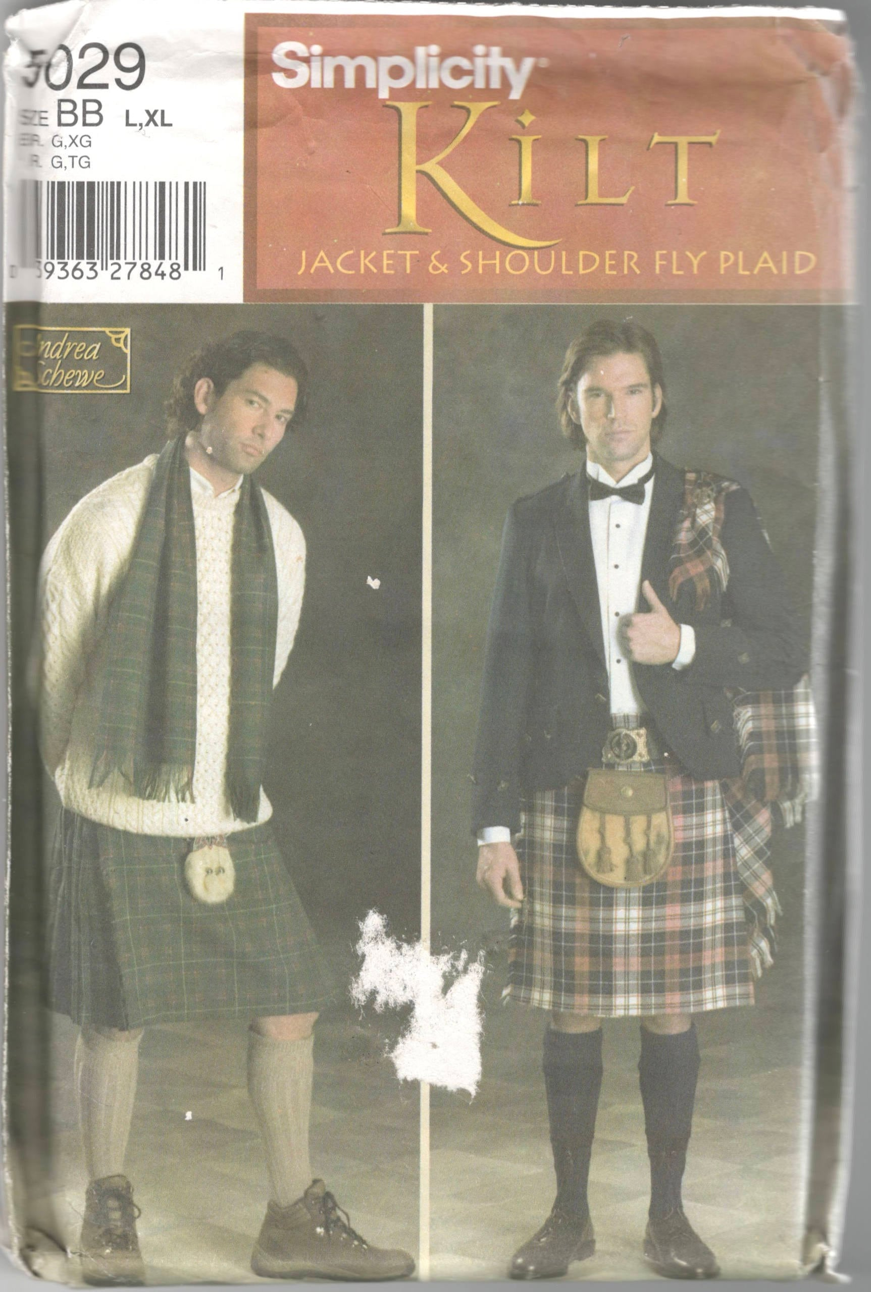 Kilt Sewing Pattern Simple Design
