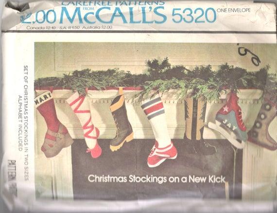 McCalls 5320 Weihnachten Strümpfe Ballett Pantoffel Skater | Etsy