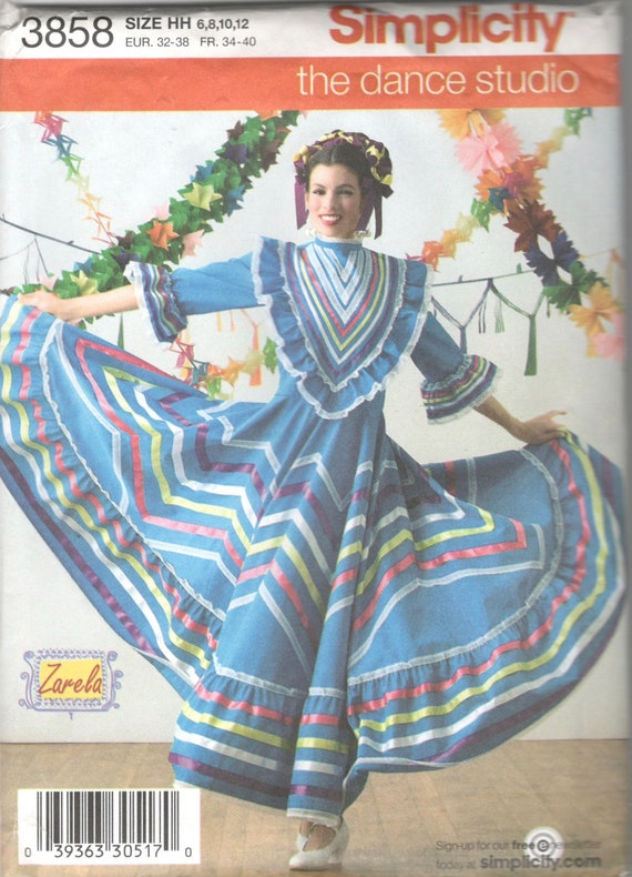 Mexican Dress Pattern
