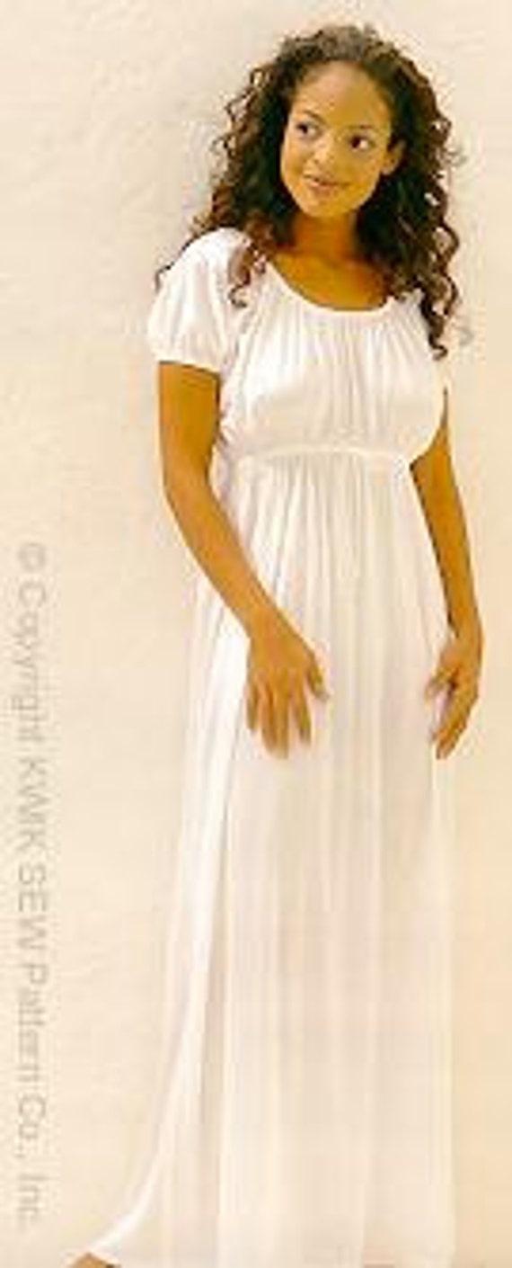 Kwik Sew 2767 Misses Empire Taille Nachthemd Muster Josephine