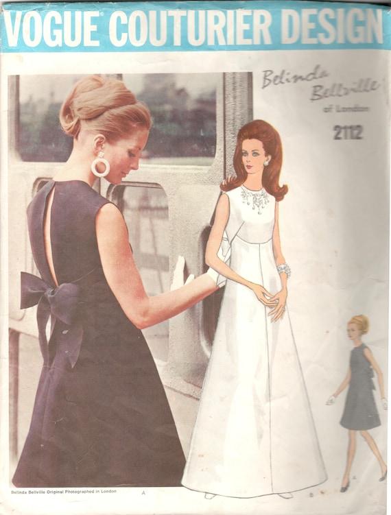 Mode 2112 1960s Belinda Bellville vermisst nach fünf Couturier | Etsy