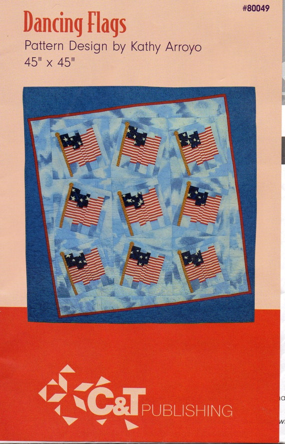 c t publishing 80049 dancing flags quilted wall hanging etsy