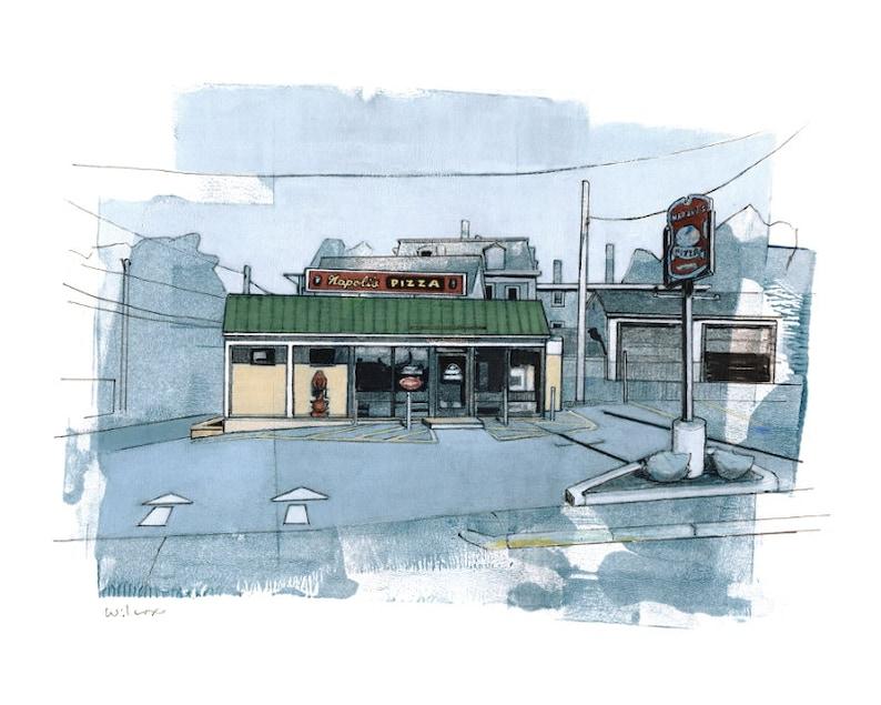 Napoli S Pizza Haverhill Ma 2 Fine Art Print