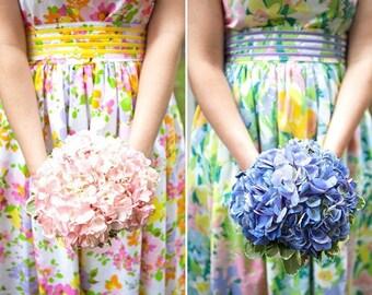 Custom Tea Dress / Floral Tea Dress / made in NYC