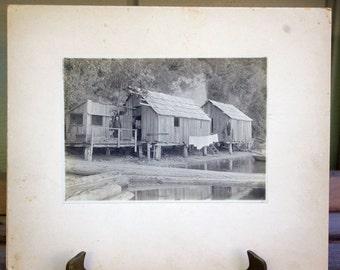 Vintage Photograph  Northwest Logger